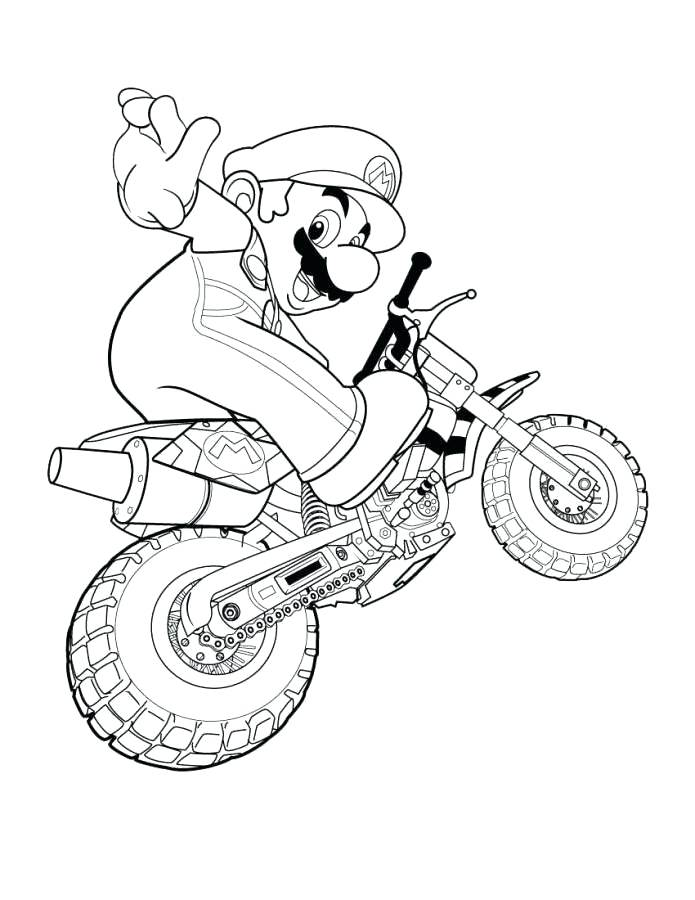 695x900 Mario Cart Coloring Pages Coloring Pictures Coloring Pages