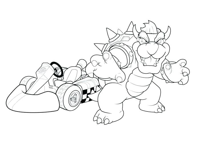 700x500 Mario Cart Coloring Pages Kart Coloring Pages Kart Coloring
