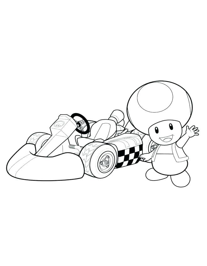 660x847 Mario Kart Coloring Page Cart Coloring Pages Color Kart Kart