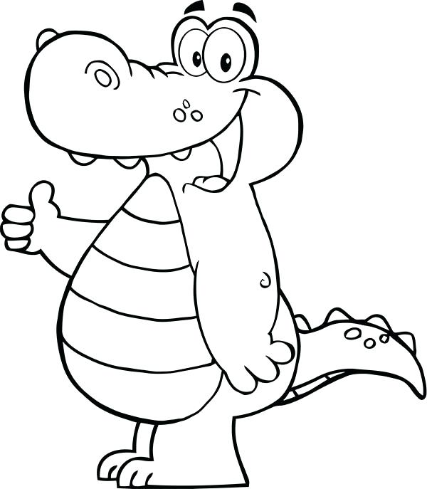 600x687 Alligator Coloring Page Alligators Coloring Page Alligator