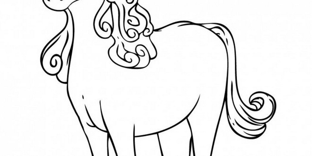 1048x524 Cute Cartoon Animals Coloring Pages Many Interesting Cliparts