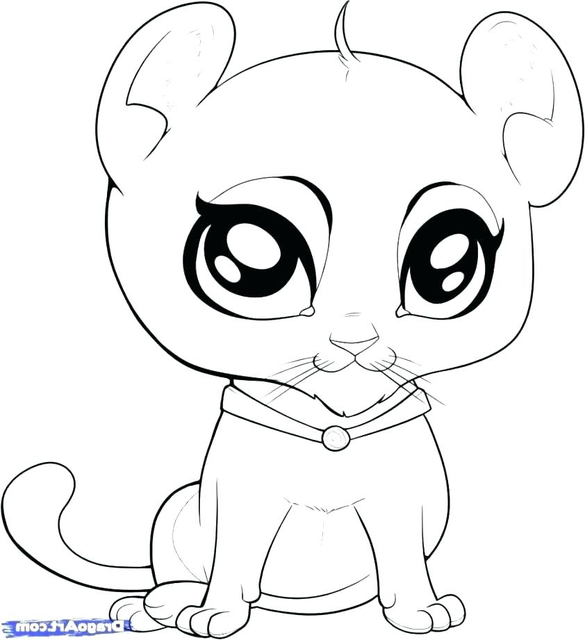 842x921 Cute Cartoon Baby Animal Coloring Pages Of Animals Page Co