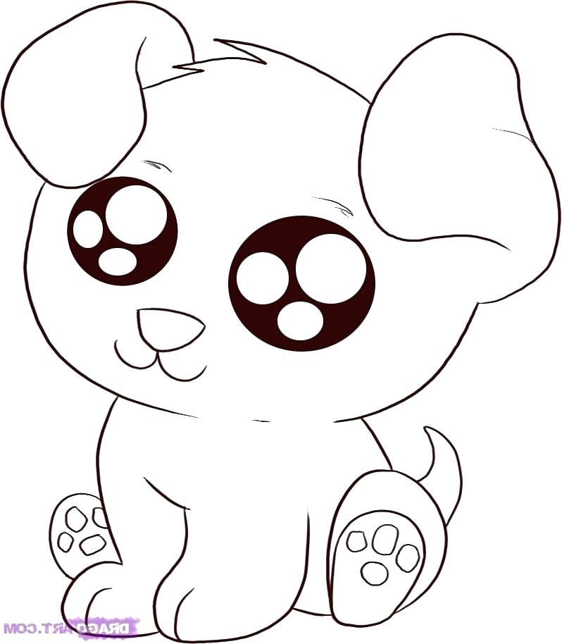 798x914 Cartoon Animal Coloring Pages Cute Cartoon Animals With Big Eyes