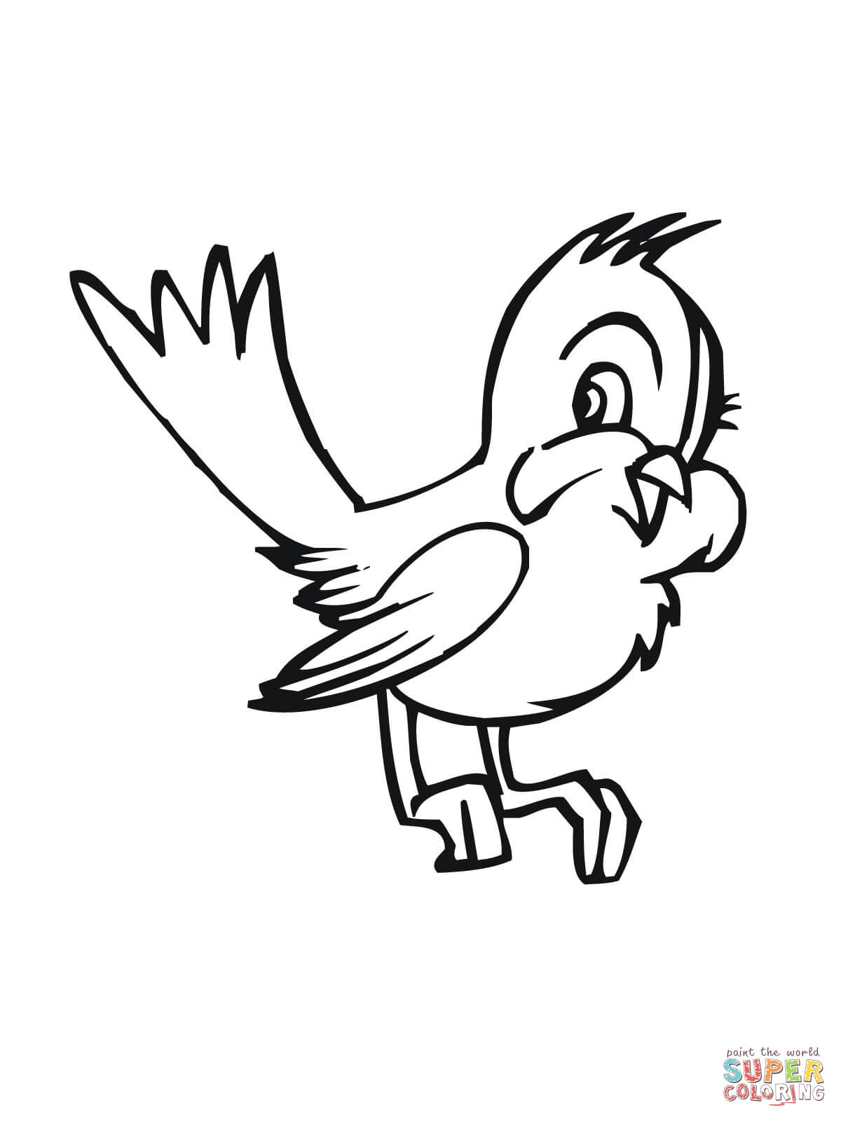 1200x1600 Breakthrough Blue Bird Outline Bluebird Coloring Pages Free