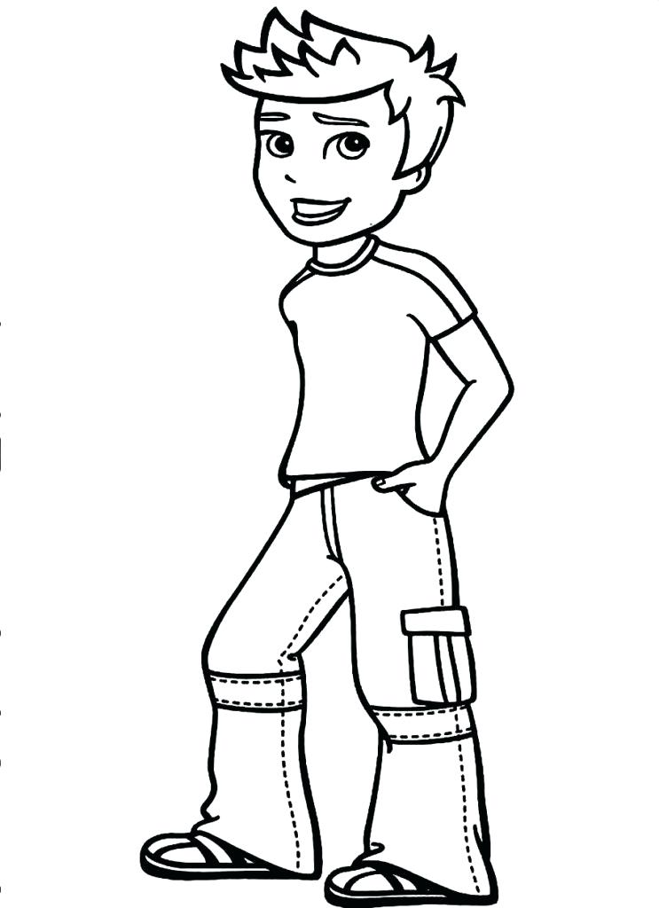 743x1024 Coloring Pages Of Boys Little Boy Coloring Pages Color Pages