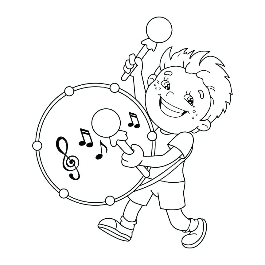 863x863 Instrument Coloring Pages Instrument Coloring Pages Coloring Page