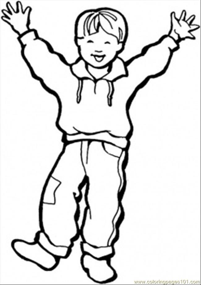 650x921 Little Boy Coloring Pages