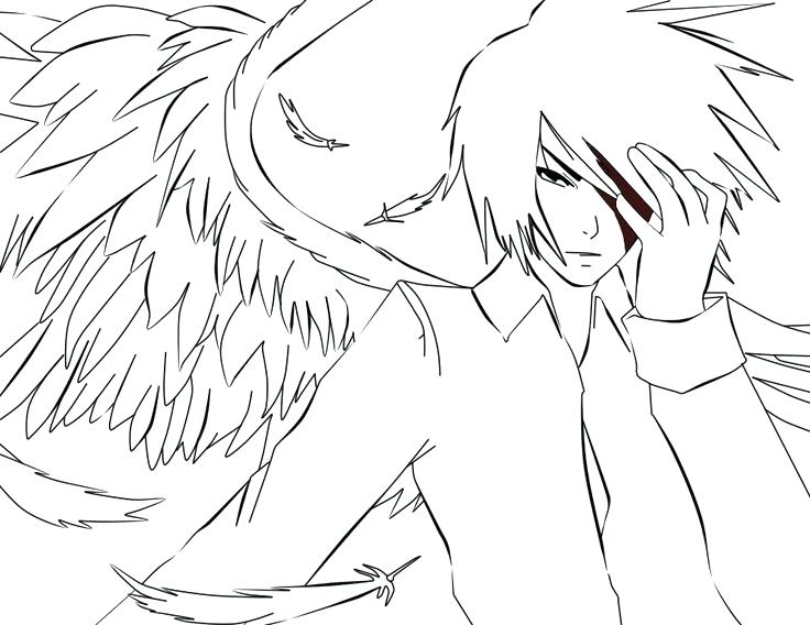 736x568 Anime Coloring Pages To Print Cool Anime Coloring Pages Anime Girl