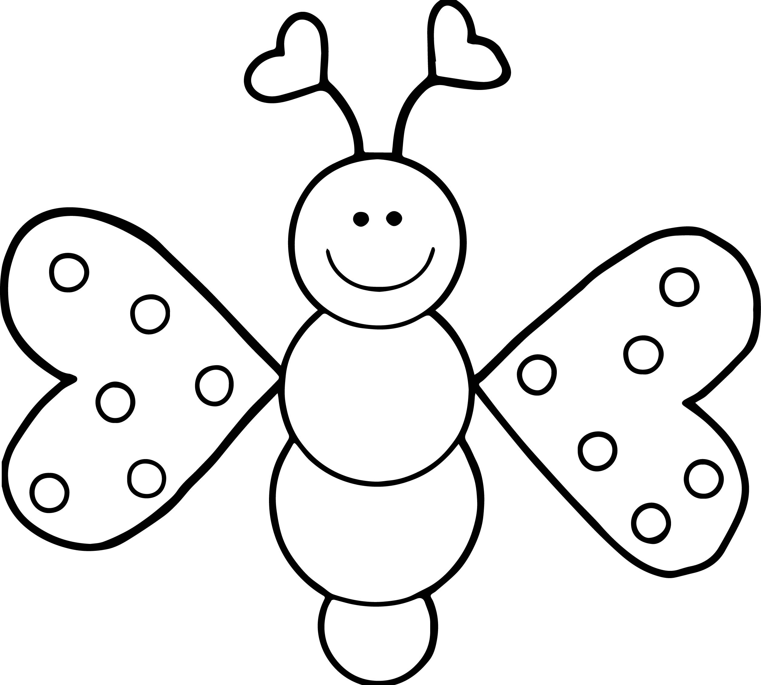 2512x2262 Competitive Cartoon Butterfly Coloring Pages Modest Of Animals
