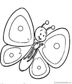236x272 Pic Of Butterfly Simple In Black N White Colouring