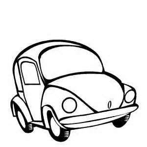 300x300 Animated Car Coloring