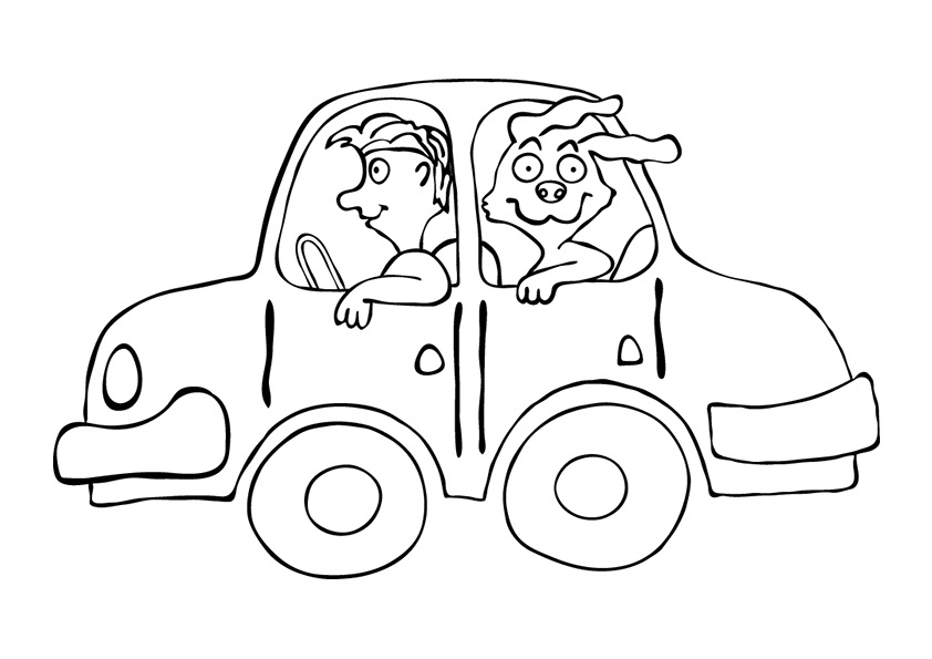 842x595 Free Printable Car Coloring Pages For Kids