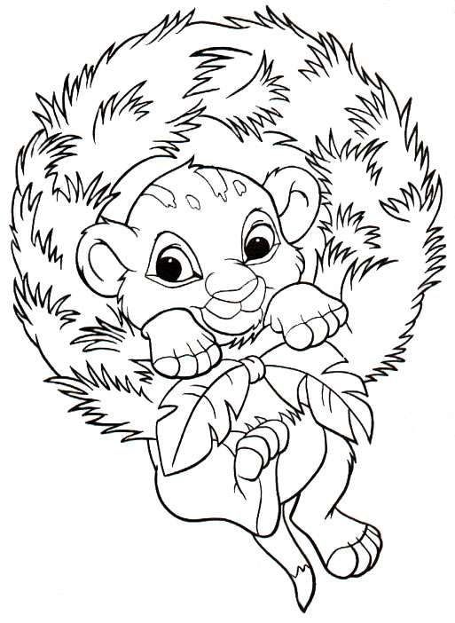 513x702 Simba Christmas Coloring Pages Coloring Pages