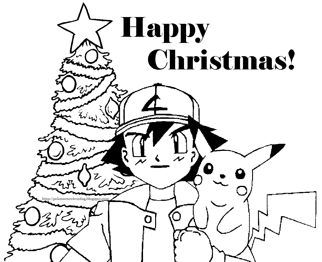 1092x891 Cartoon Christmas Coloring Pages