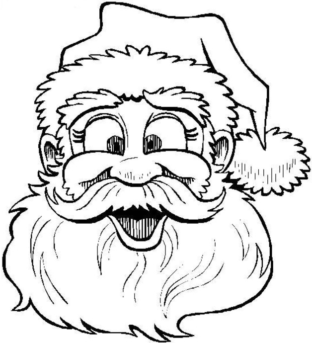 628x690 Christmas Coloring Pages Online
