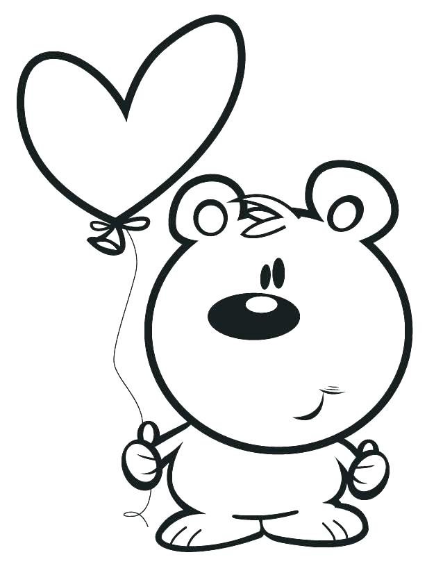 638x825 Cartoon Coloring Page