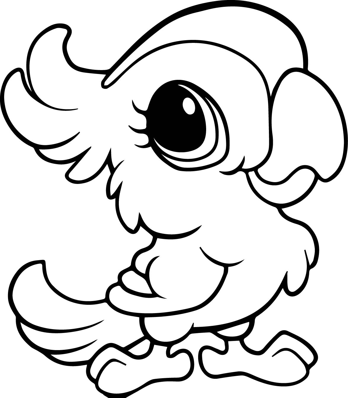 1175x1346 Awesome Cartoon Animals Coloring Pages Gallery Printable