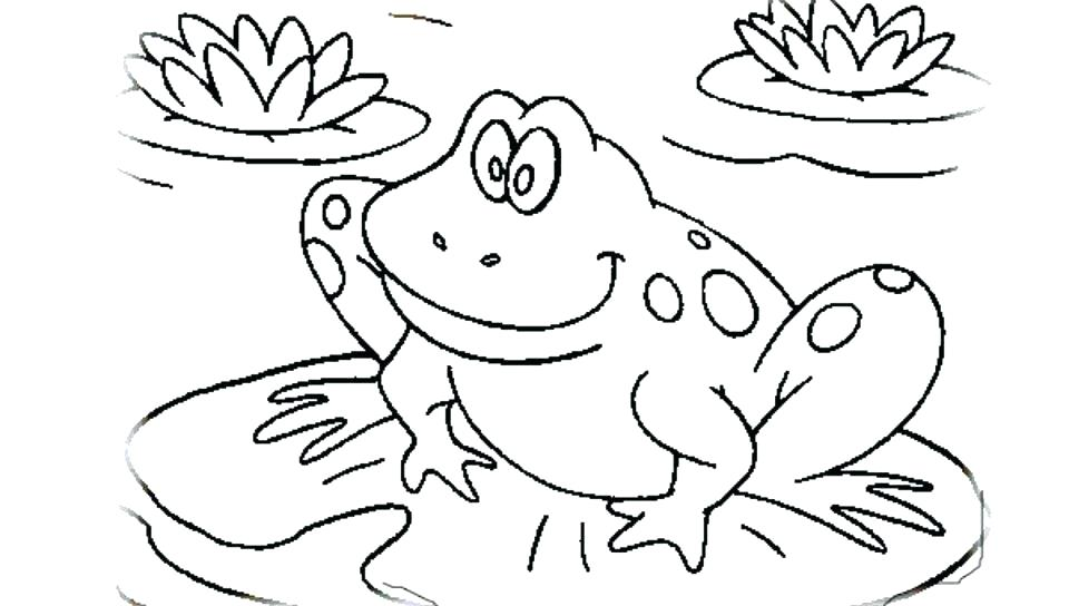 960x544 Amphibian Coloring Pages Printable Frog Coloring Pages Cartoon