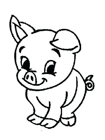 369x490 Farm Animals Coloring Pages
