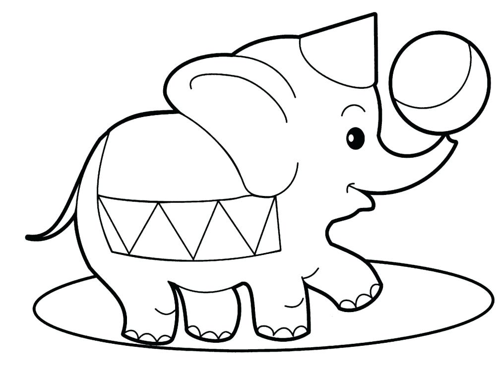 1008x768 Free Cartoon Baby Elephant Images Download Clip Art Animal