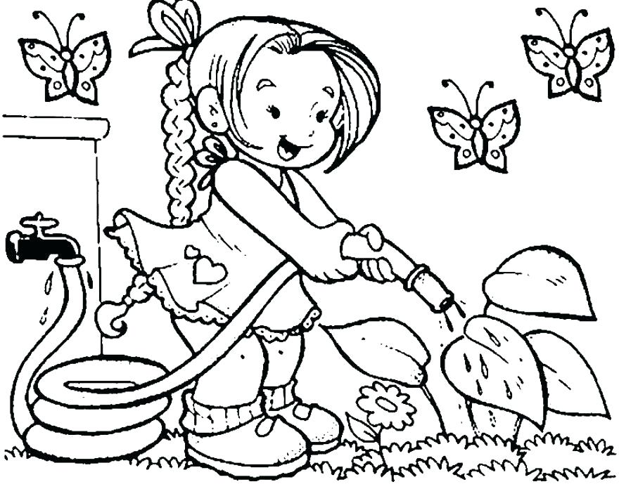 880x696 Free Cartoon Coloring Pages To Print