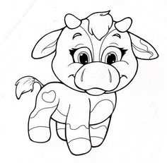 236x231 Coloring Pages For Kids Cow Color Page, Animal Coloring Pages