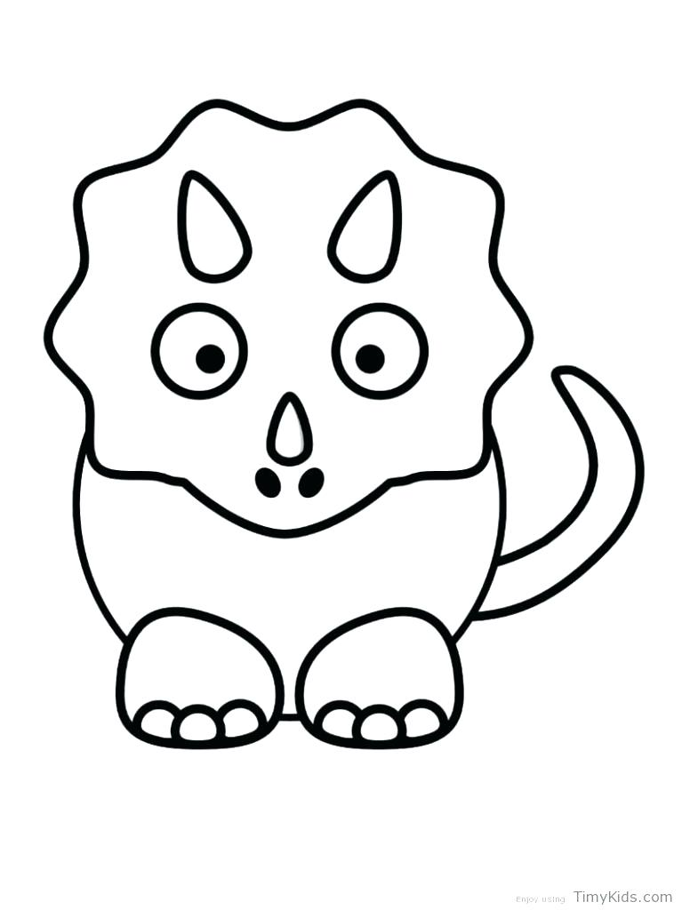 767x1024 Cute Cartoon Dinosaur Coloring Pages Awesome New For Kids