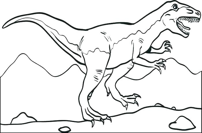 700x461 Dinosaur Coloring Pages Printable Scary Dinosaur Coloring Pages