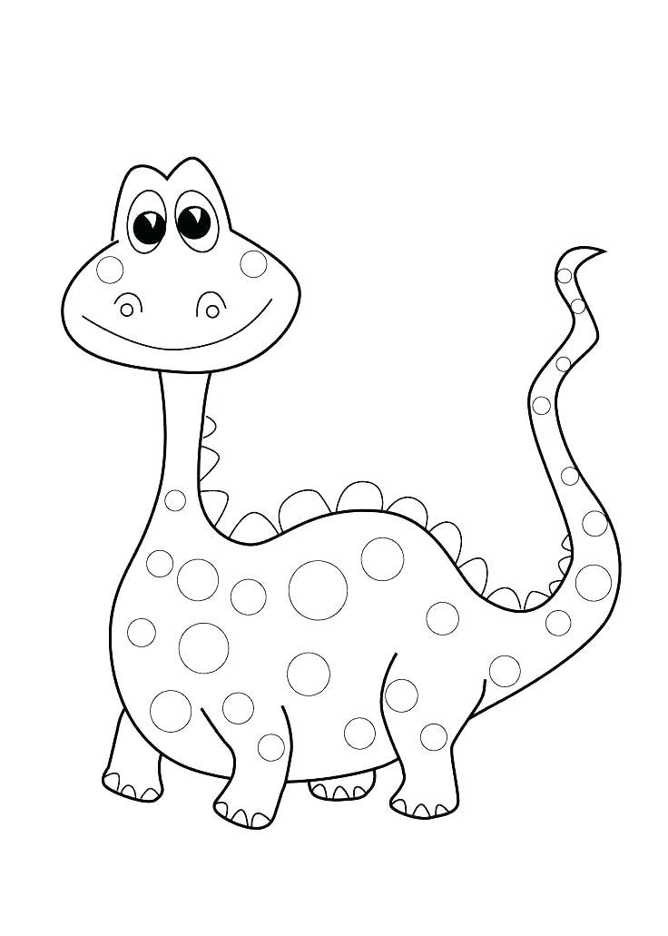 736x1031 Cartoon Dinosaur Coloring Pages Cartoon Dinosaur Coloring Page