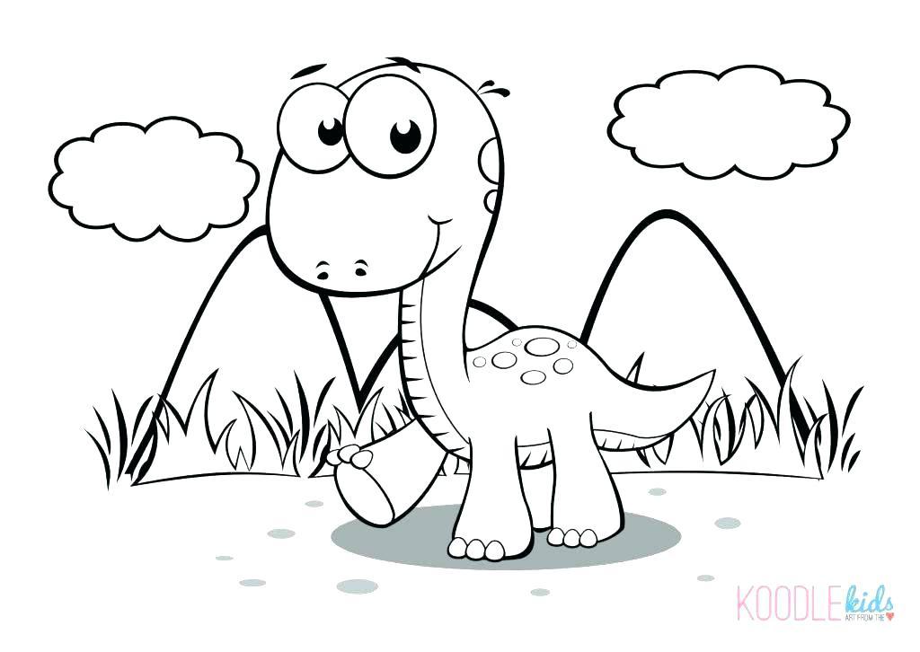 1024x726 Cartoon Dinosaur Coloring Pages Cartoon Dinosaur Coloring Pages