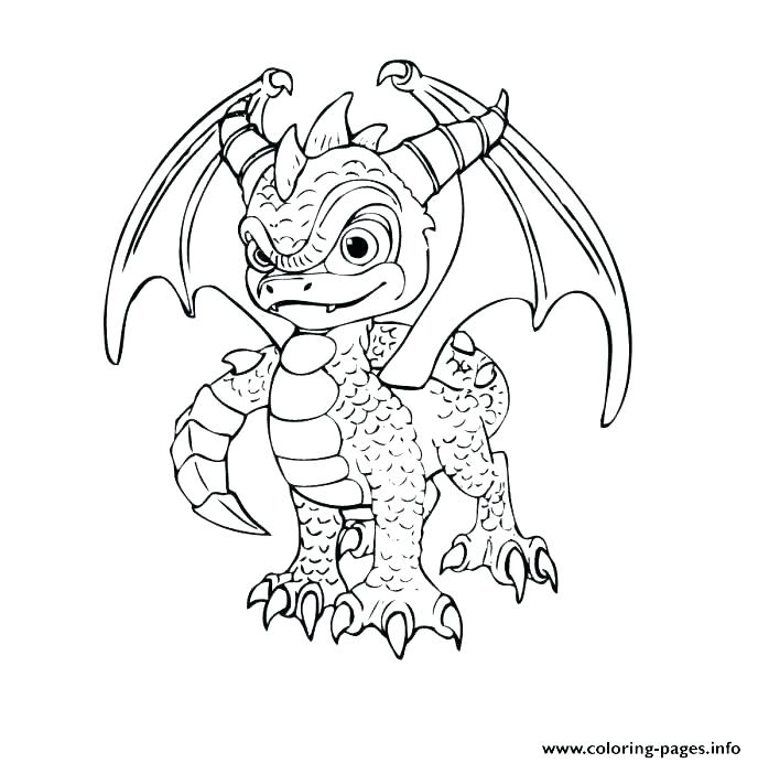 688x692 Dragon Coloring Pages Dragon Tattoo Coloring Design Realistic
