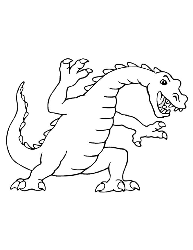 671x869 Dragon Coloring Pages
