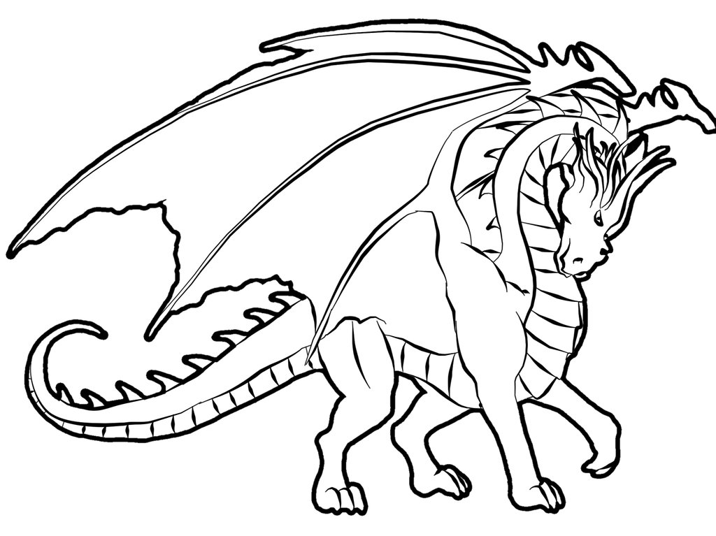 1024x767 Free Dragon Coloring Pages Unique Real Dragon Coloring Pages