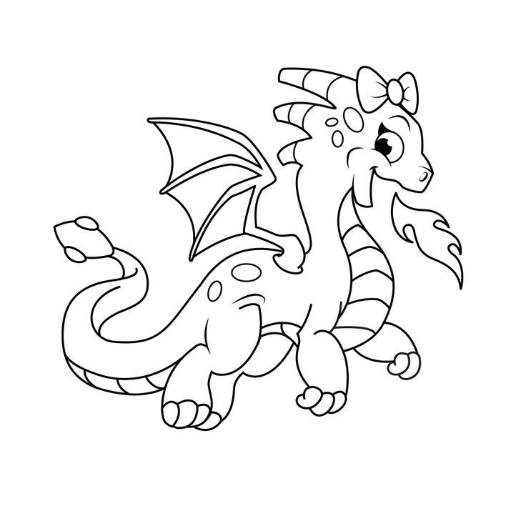 736x736 Mejores De Dragon Coloring Pages En