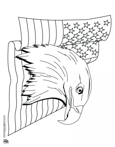 390x500 Coloring Pages Eagle Coloring Pages Eagle Football Coloring