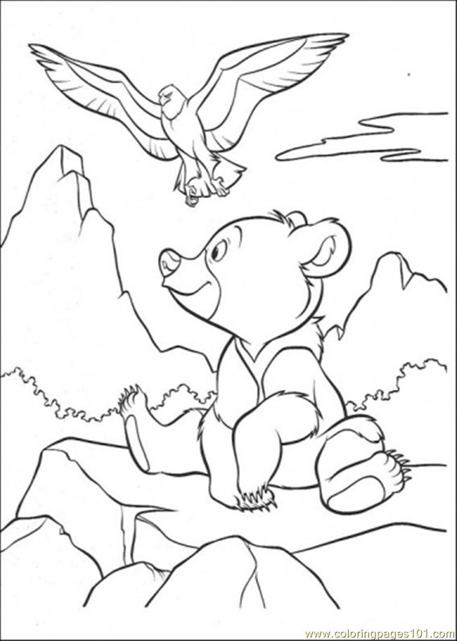 650x912 Bear And Eagle Coloring Page Coloring Page