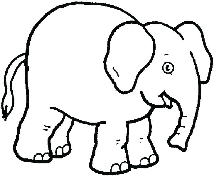 729x600 Elephant Coloring Page Baby Elephant Coloring Pages Print Elephant