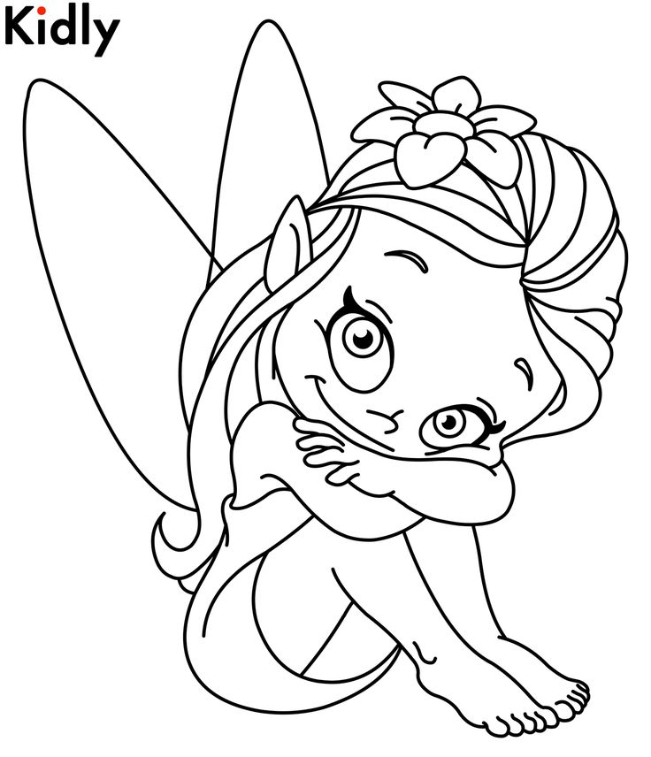 Cartoon Fairies Coloring Pages at GetDrawings.com | Free for ...