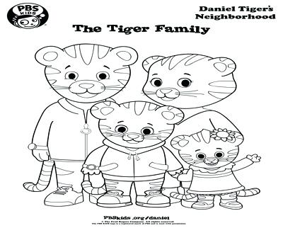 400x322 Free Printable Daniel Tiger Coloring Pages Kids Coloring Family