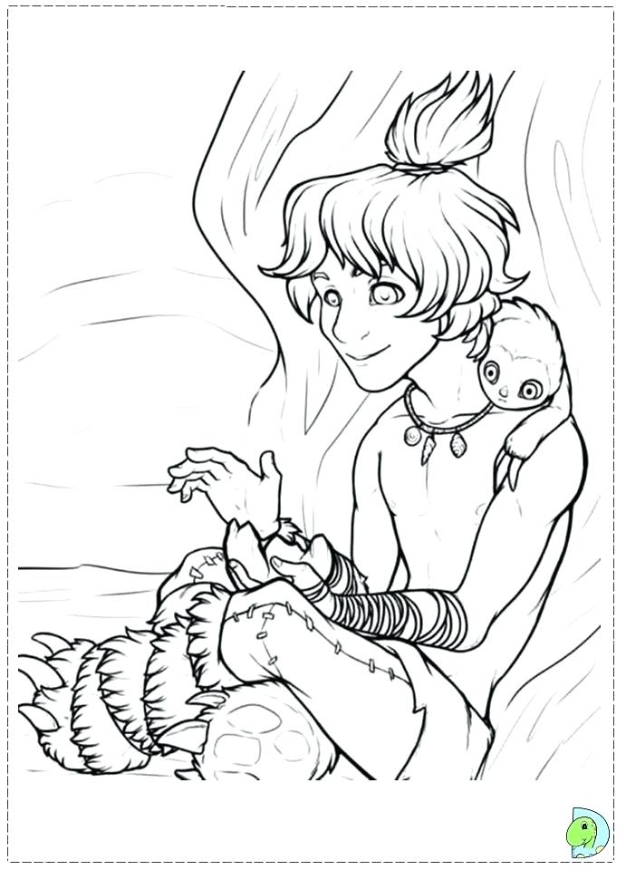 691x960 The Croods Coloring Pages Croods Family Coloring Pages