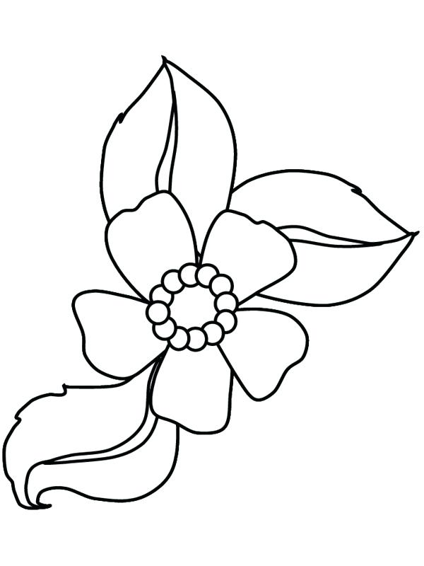 Cartoon Flower Coloring Pages at GetDrawings com | Free for