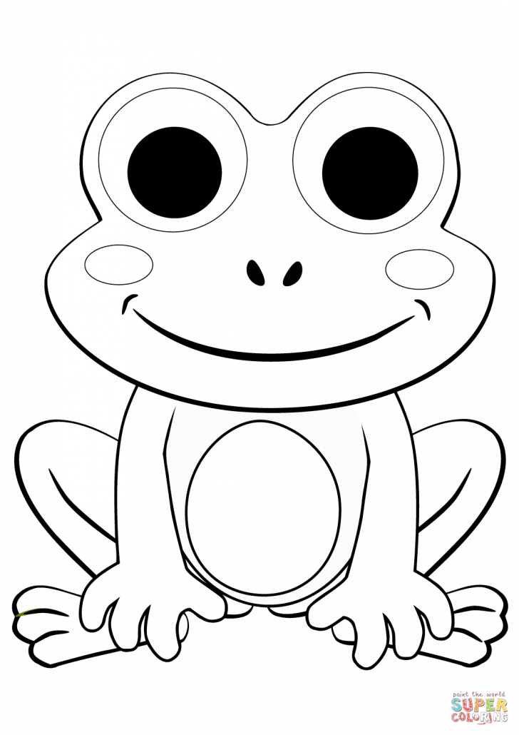 cartoon frog coloring pages at getdrawings  free download