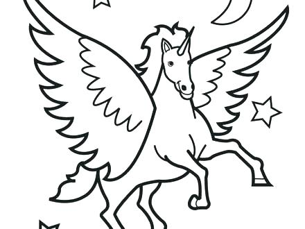 440x330 Horses Coloring Pages Printable Coloring Page Of A Cartoon Horse