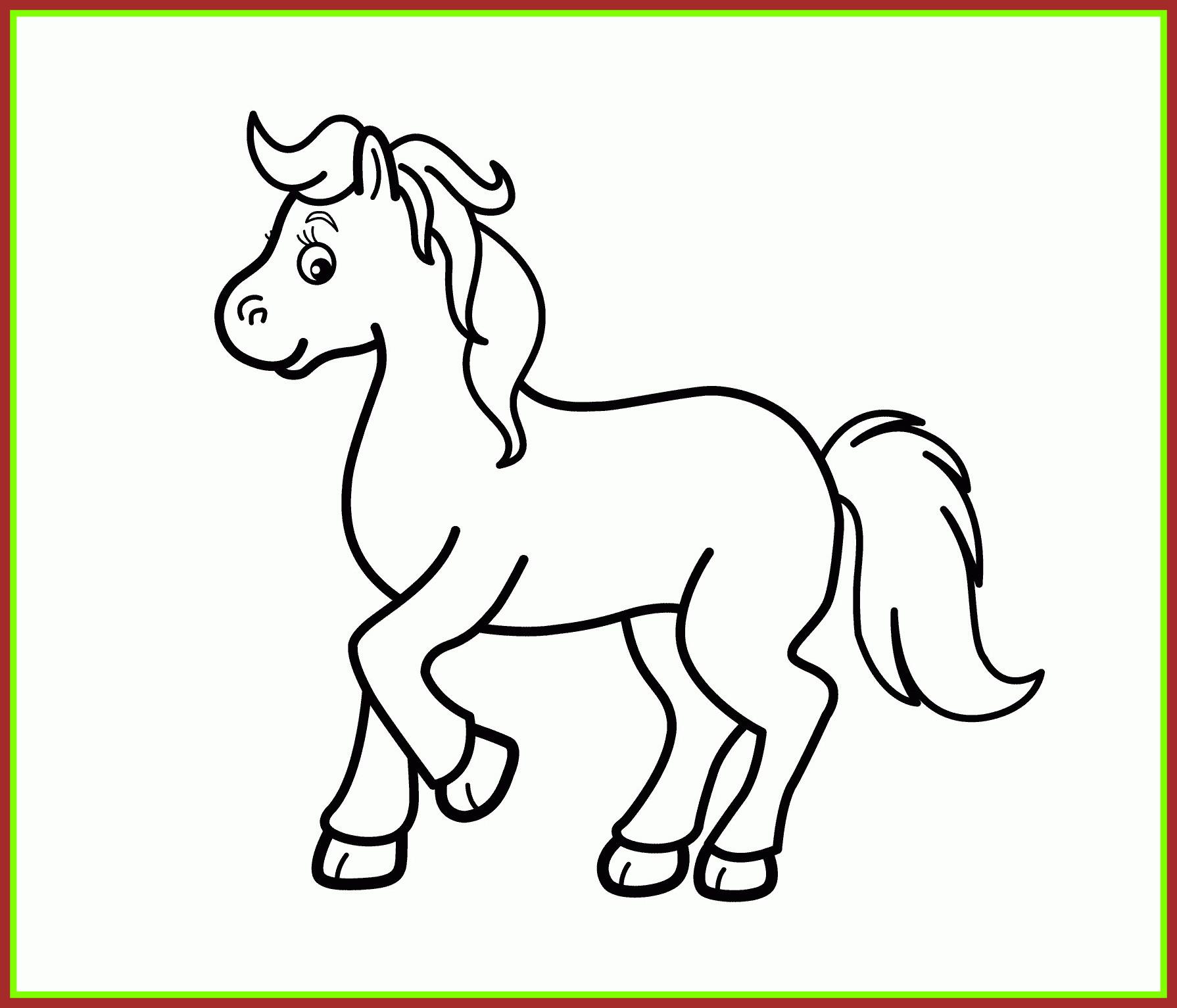 1790x1533 Unbelievable Fresh Cartoon Horse Coloring Pages Design Printable