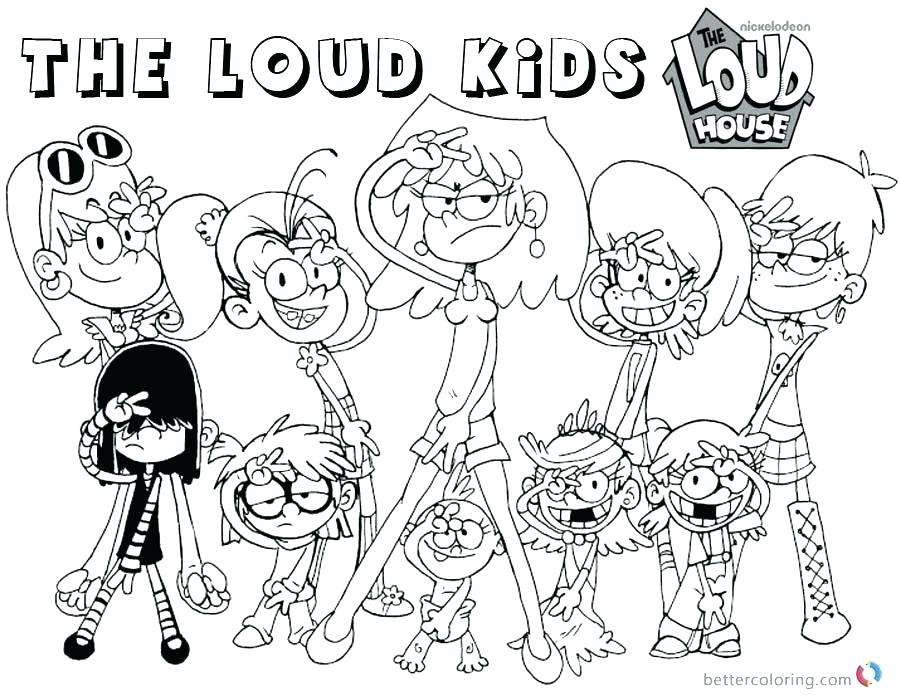 900x700 Loud House Family Coloring Pages Online Coloring Pages Valentines