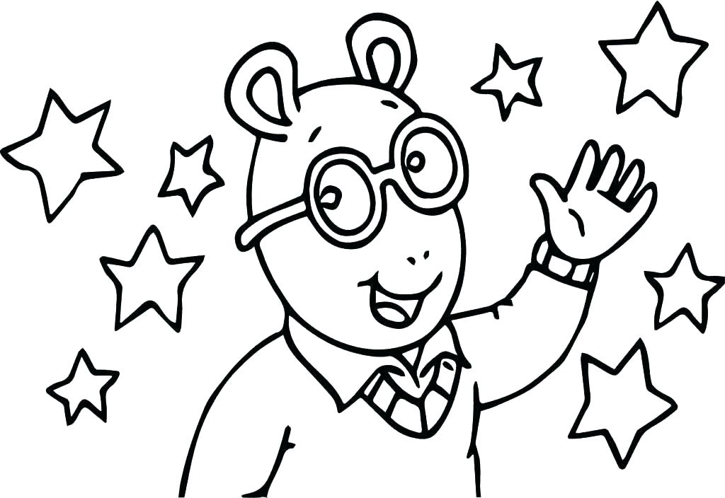 Cartoon Kids Coloring Pages