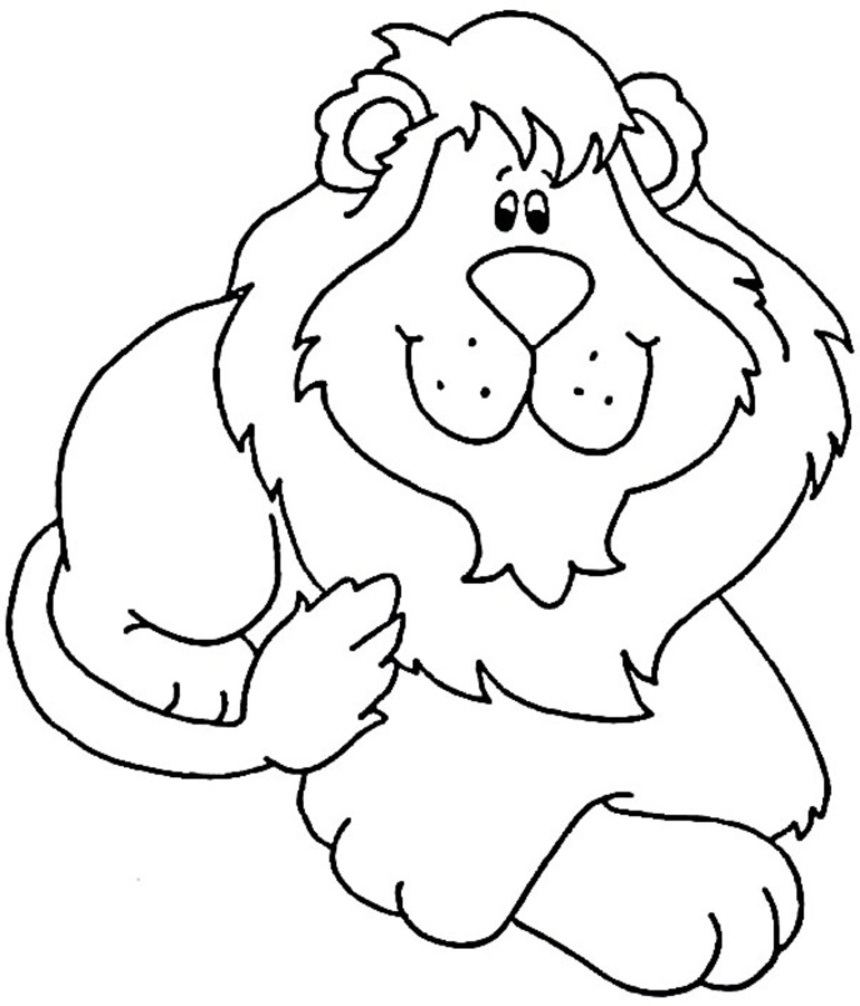 860x1006 Fresh Cartoon Lion Coloring Pages Collection Printable Coloring
