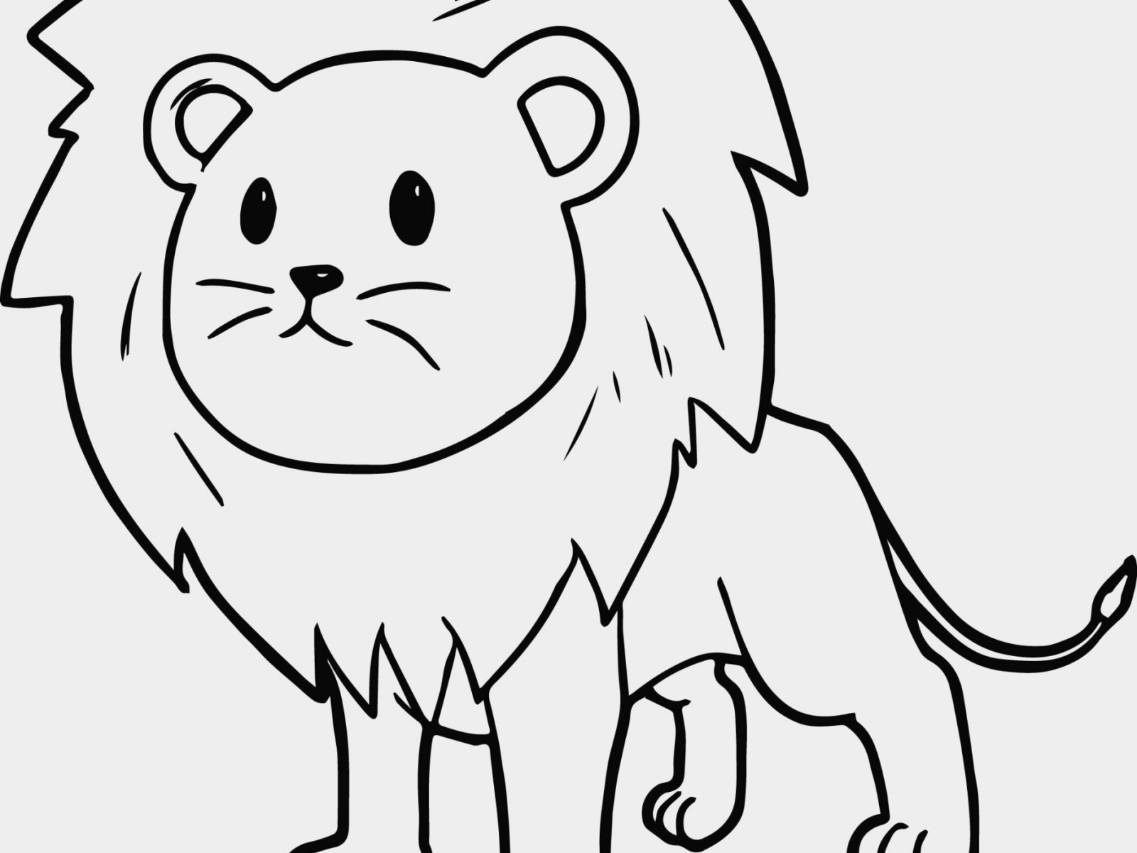 1600x1200 Lion Coloring Page Stunning Pages Mountain Printable Sea Free