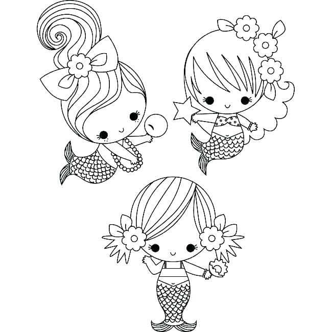 650x650 Printable Little Mermaid Coloring Pages The Little Mermaid