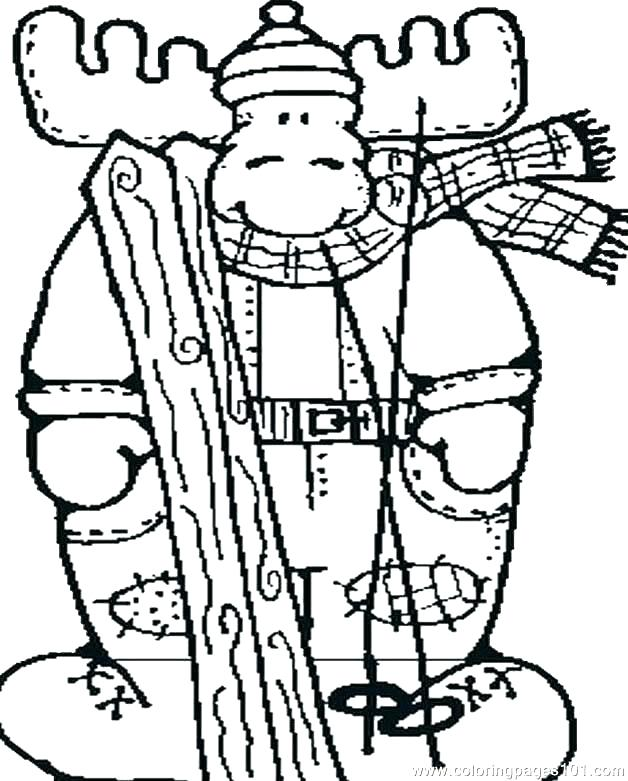 628x781 Moose Coloring Page Moose Coloring Pages Moose Coloring Sheet